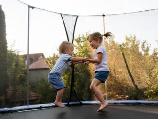 blessure trampoline