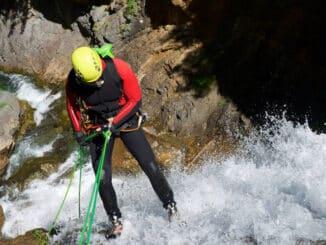 canyoning niveau