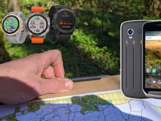 carte gps montre
