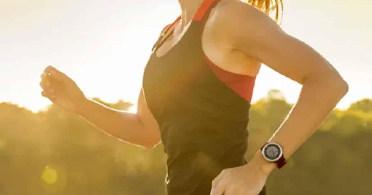 courir avec une montre gps