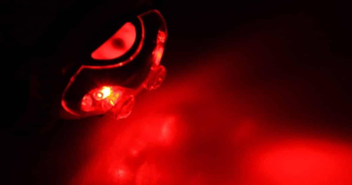éclairage rouge
