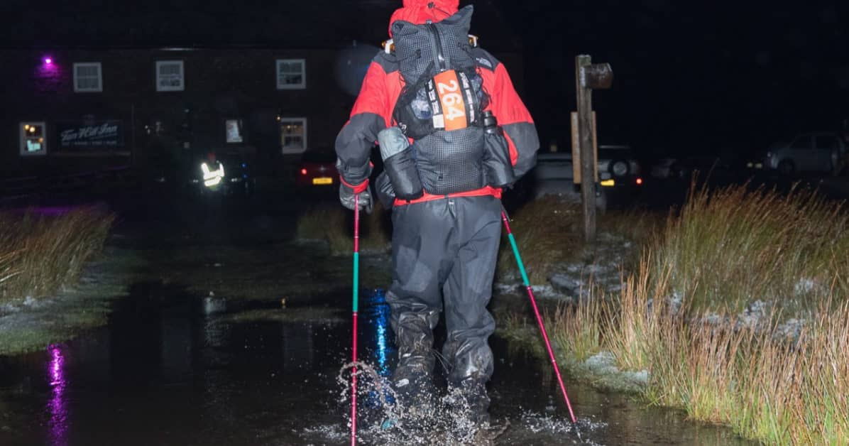 montain spine race humide