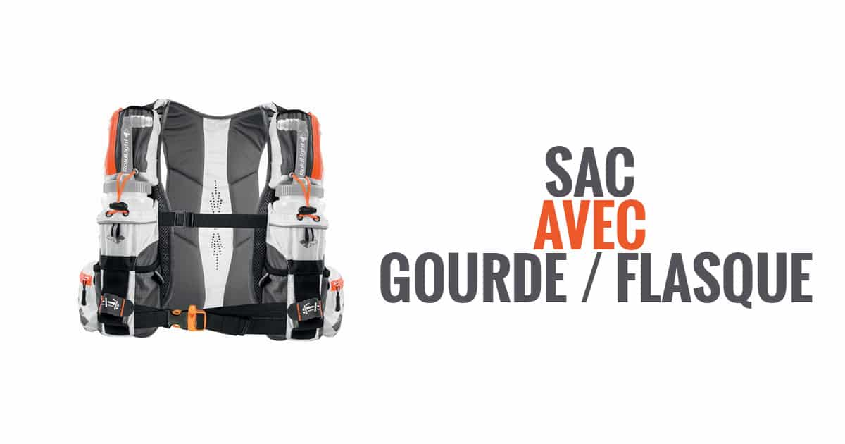 sac gourde flasque