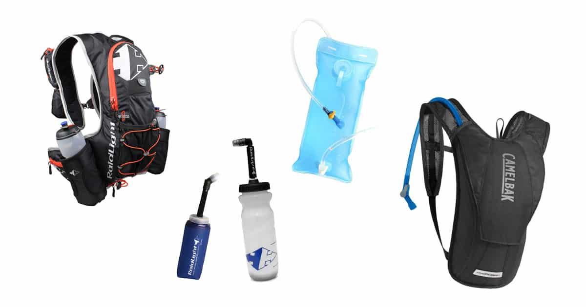 gourde, flasque ou poche à eau
