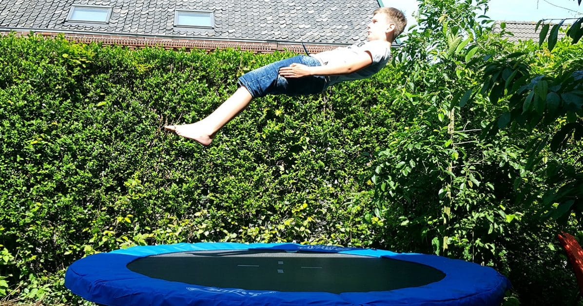 trampoline exterieur
